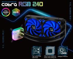 Tản nhiệt nước CPU Raidmax Cobra RGB 240