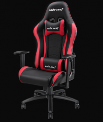 Anda Seat Axe Black/Red - Full PU Leather 4D Armrest Gaming Chair
