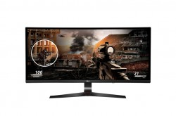 "LG 34UC79G-B 34"" 21:9 144Hz Full HD IPS Curved Gaming Monitor"