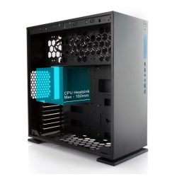 In-Win 303 Black - Full Side Tempered Glass Mid-Tower Case