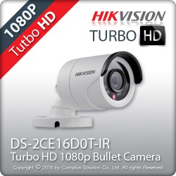 Camera  HD-TVI  DS-2CE16D0T-IR