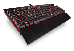 KEYBOARD CORSAIR K70 LUX RED LED