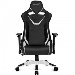 AK Racing GAMING series CP - BP Series Black / White