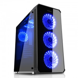 Sama Vanguard Full Tower case (RGB fan & Tempered Glass)