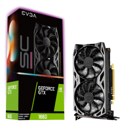EVGA GeForce GTX 1660 SC ULTRA GAMING 6GB