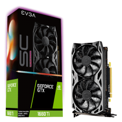 EVGA GeForce GTX 1660 Ti SC ULTRA GAMING 6GB