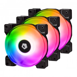 Bộ Pack 3 Fan Tản Nhiệt ID-COOLING DF-12025 ARGB TRIO
