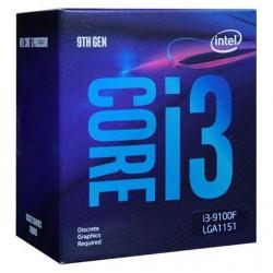 CPU Intel Core i3-9100F 3.6Ghz