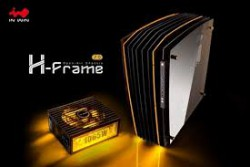 Case In-Win H-Frame 2.0 + SII-1065W - 30th Anniversary Premium Signature Combo