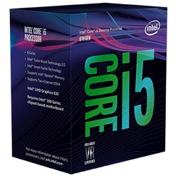Intel Core i5-8400 (Up to 4.0Ghz/ 9Mb cache/ Socket 1151 v2) Coffee Lake