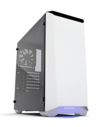 Phanteks Eclipse P400 White Tempered Glass- RGB illumination Mid-Tower Case