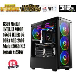 PC Gaming VQ04 i5 9100F/8GB/120GB M.2/1660 SUPER 6GB